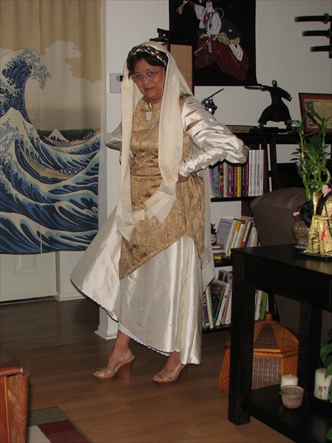 1ee893b9216 The Making of My Breha Organa Costume - by Ruby Bayan - Freelance Writer